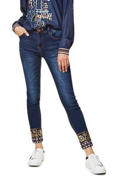 e0ab9d9c14 Jeans Exotic Papping Ankle Desigual. Discover the fall-winter 2017  collection. Free shipping