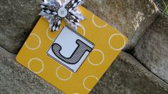 Personalized Wood Monogram/Initial Frame  by yoursweetwhimsy, $12.00