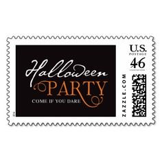 EAT DRINK & BE SCARY   HALLOWEEN POSTAGE