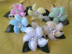 Originals by Stephanie - Koufeta Favors: Blossoms, Bows, & Tulle