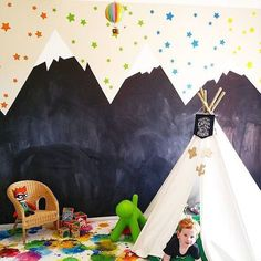 12 X OUTDOOR THEMED KIDS'ROOM