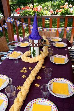 Idéias Para Decoração Festa Rapunzel / Enrolados