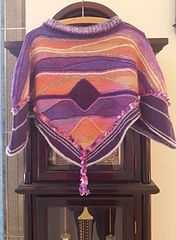 Ravelry: Theresia58's Waved Poncho