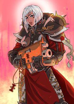 Nuns with guns by callofthedeep warhammer memes, warhammer art, sisters of silence Warhammer 40k Memes, Warhammer Art, Warhammer 40000, Warhammer Armies, Sisters Of Silence, 40k Sisters Of Battle, Anubis, Character Art, Character Design