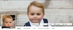 Facebook: create vignette satiriche  con il principino George