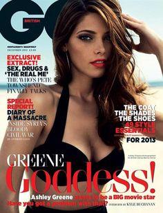 Ashley Greene, British GQ December 2012