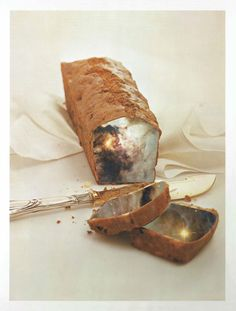 Literally… a space cake! Collages, Space, Floor Space, Collagen, Collage, Spaces
