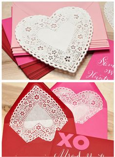 doily envelope liners