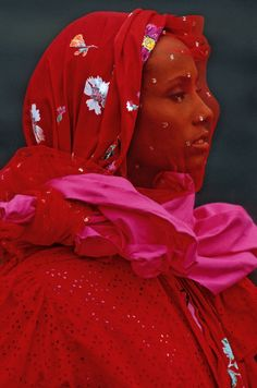 Iman by Hans Feurer for Kenzo S/S 1983