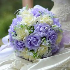 Image result for violet blue and white wedding colors