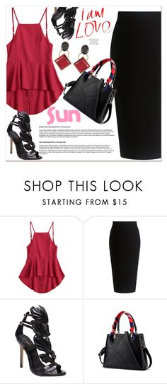 """""""Red"""" by nerma10 ❤ liked on Polyvore featuring Theory and Marni"""