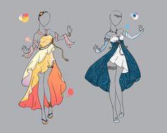 .::Outfit Adopt Set 1(CLOSED)::. by Scarlett-Knight.deviantart.com on @deviantART: