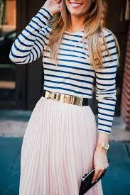 Resultado de imagem para blush top and midi outfit