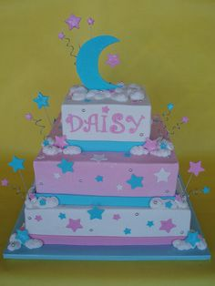 moon and star cake