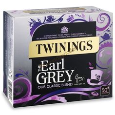 Buy Earl Grey – 100 Tea Bags from the Twinings tea shop. A deliciously delicate tea, with an added twist from the flavours of bergamot and lemon. Twinings Tea, Different Kinds Of Fruits, Pg Tips, Grocery Deals, Fruit Tea, Tea Packaging, Earl Gray, Tea Blends