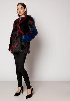 ROXANA JACKET BLUE RED, hi-res | IvyRevel