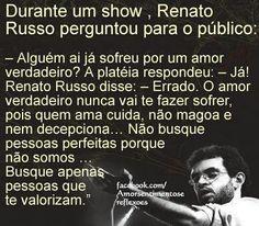 Amor Verdadeiro - Renato Russo (Legião Urbana)