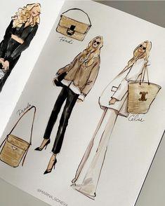 Fashion Design Sketchbook, Fashion Design Portfolio, Fashion Design Drawings, Fashion Sketches, Fashion Drawing Tutorial, Fashion Figure Drawing, Fashion Illustration Tutorial, Drawing Fashion, Mode Portfolio Layout