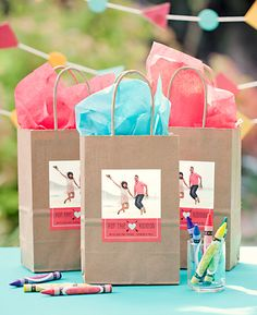 Kid Wedding Favor Goodie Bag | Evermine Blog | www.evermine.com