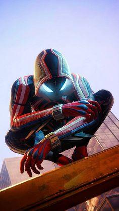 Marvel Avengers Movies, Memes Marvel, Iron Man Avengers, Avengers Art, Marvel Comics Art, Marvel Comic Universe, Marvel Heroes, Black Spiderman, Spiderman Art