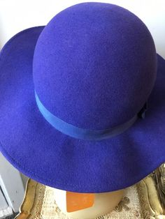 Top Hat Purple Wool Felt Quality 4 Sizes Fast Post 1st Class