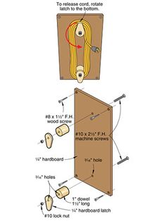 WOODWORKING COURSE It's often the simple fixes that make a shop more enjoyable to work in. Here are some reader submitted tips for you to put to use. Workshop Storage, Workshop Organization, Garage Workshop, Garage Organization, Garage Storage, Organizing, Woodworking Courses, Learn Woodworking, Woodworking Workshop