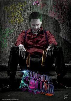 Suicide Squad Joker Final Poster by Bryanzap