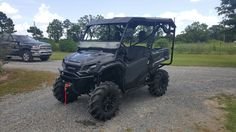 "Honda Pioneer 1000-5, 30"" ITP cryptid tires, 2"" lift"