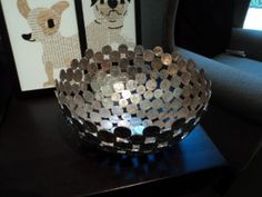 Coin Bowl Coin Crafts, Dyi, Decorative Bowls, Coins, Objects, Girly, Blogging, Women's, Rooms
