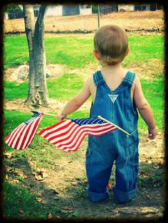 4th of July baby - teach your children and grands why we call it Independence Day