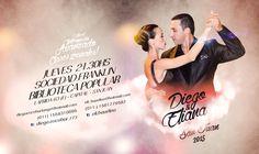 Diseño para el mundo del Tango... Diego Escobar & Eliana Baudino