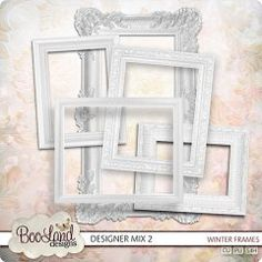 Boo's CU Designer Mix 2 ~ Frames