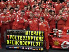 Schumacher wins the 7th title of his career.