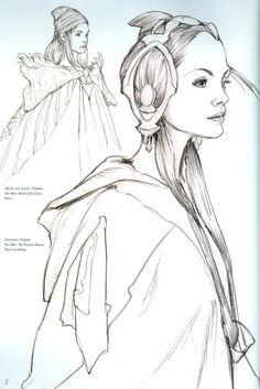 """aweyeahartbooks: """" Scans from Iain McCaig's Shadowline. (One of the best artbooks I've ever purchased). """""""