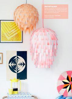 DIY: Creëer heel makkelijk en snel je eigen unieke lamp Roomed   roomed.nl