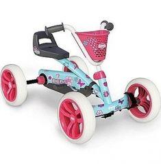 Kart à pédales Berg Buzzy Bloom Karts, Trampolines, 5 Year Olds, Fiat 500, Go Kart, Storage Baskets, 5 Years, Baby Strollers, Bloom