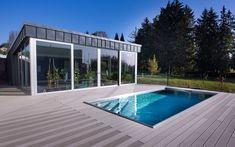 nerezový bazén, venkovní bazén, skimmerový vazén, moderní design, rodinný bazén, zahradní bazén Spa, Outdoor Decor, Design, Home Decor, Decoration Home, Room Decor, Home Interior Design, Home Decoration