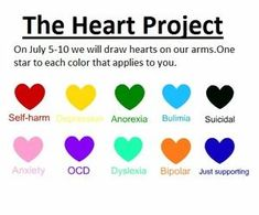 the heart project self harm - Google Search: