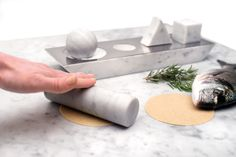 elementare marble kitchenware utensils by studio lievito