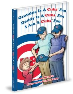 Grandpa Is a Cubs Fan, Daddy Is a Cubs Fan, I am a Cubs Fan! Chicago Cubs Gifts, Chicago Cubs Fans, Cubs Games, Kids Sports, You Are The Father, Fathers Day Gifts, Book Lovers, Daddy, Baseball Cards