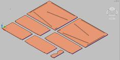 Single Can Rotator - Basic CAD plan