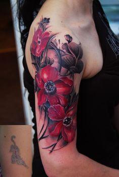 Desafio Criativo - Sua dose diária de inspiração e criatividade!: Inspiração para Tatuagens de Flores