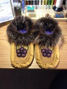 Handmade Moccasins - by Alaska Beadwork Beadwork, Beading, Moccasins, Alaska, Flats, Handmade, Shoes, Fashion, Penny Loafers