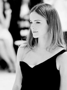 actress, beautiful, black and white, emma watson, hair, harry potter, hermione granger, pretty, black & white, perks of being wallflower