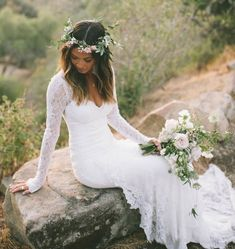 47 Wonderful Bohemian Wedding Dress Ideas For the bride who wants to feel dreamy and effortless on her wedding day, boho wedding dresses achieve a style that evokes a sense of wonder and whimsy. Bohemian Wedding Dresses, Dream Wedding Dresses, Boho Dress, Bridal Dresses, Wedding Gowns, Bridesmaid Dresses, Maxi Dresses, Bohemian Weddings, Ceremony Dresses