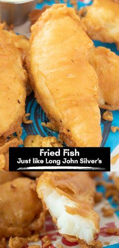Fried Fish Just Like Long John Silver's is a flakyfilet of cod, battered in our coating that is spot-on to the fast-food restaurant's. This filet of cod is battered and fried in lard in a cast iron skillet. This is the picture-perfect Fried Fish, that is dipped in batter and fried to a golden brown crunch… absolute perfection! Recipes With Fish And Shrimp, Fish And Seafood, Fish Recipes, Seafood Recipes, My Recipes, Cooking Recipes, Homemade Tartar Sauce, Mac And Cheese Homemade, Fried Fish