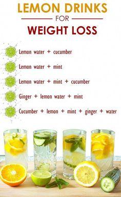 Benefits of lemon water. Lemon detox water for weight loss. Lemon detox drinks for weight loss. Healthy Detox, Healthy Smoothies, Healthy Drinks, Easy Detox, Healthy Water, Water For Health, Vegan Detox, Healthy Juice Recipes, Fruit Smoothies