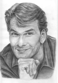 Patrick Swayze / Pencil Drawing