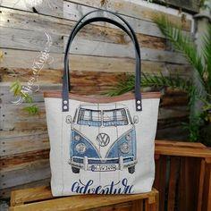 Ailes d'Ange sur Instagram: Un cabas Cabôtin sous licence Sacôtin. Avec un coupon VW de sos machine à coudre. Un clein d'œil pour mes amis fans de combi. . 🥰…