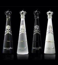 Skull Liquor Bottle